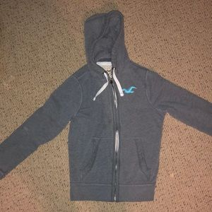 Hollister zip up jacket